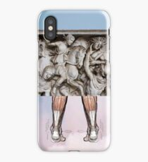 I No Longer Fear The Razor That Guards My Heel (III) iPhone Case
