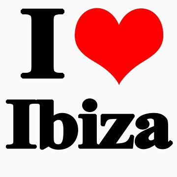 I love Ibiza by MissGeorgiou