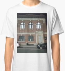 Arch, New York, Manhattan, Brooklyn, New York City, architecture, street, building, tree, car,   Classic T-Shirt