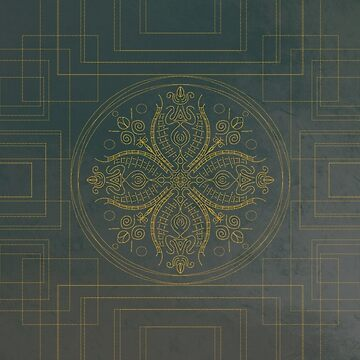 Golden Mandala  by KatherineHarris