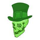 Skull Leprechaun by goblin-flame