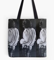 Jim Morrison From The Back Tote Bag
