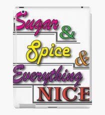 Sugar & Spice iPad Case/Skin