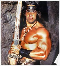 Jeff The Barbarian Poster