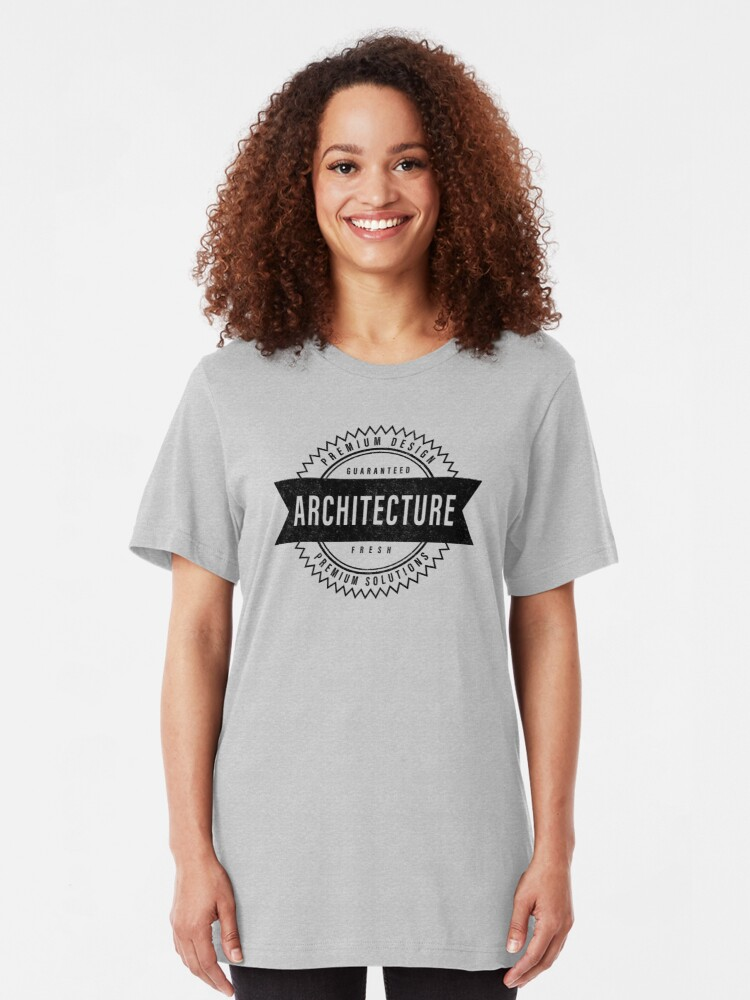 Alternate view of Architecture - Guaranteed Fresh Slim Fit T-Shirt