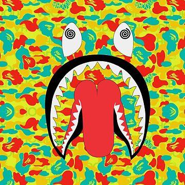 bape shark by ibrahimGhd