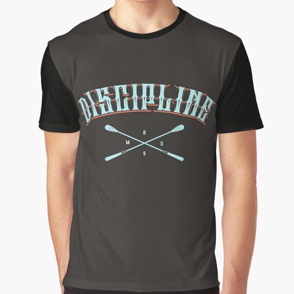 Discipline Aqua / Brick Graphic T-Shirt