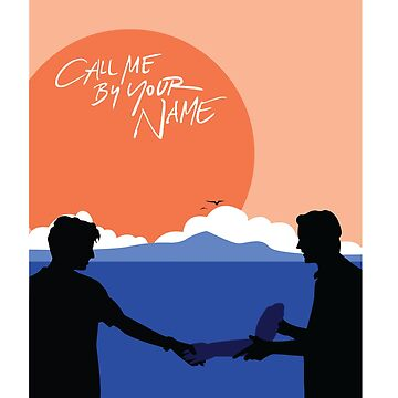 Elio And Oliver Cmbyn Call Me By Your Name Line Art Graphic T Shirt
