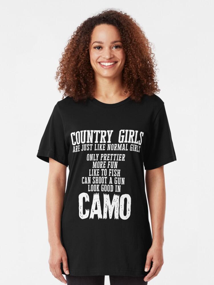 Les filles font de la pêche Look Good T Shirt