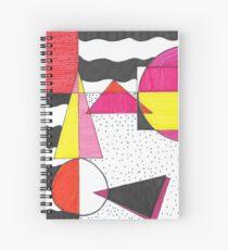 Paleta Geométrica Spiral Notebook
