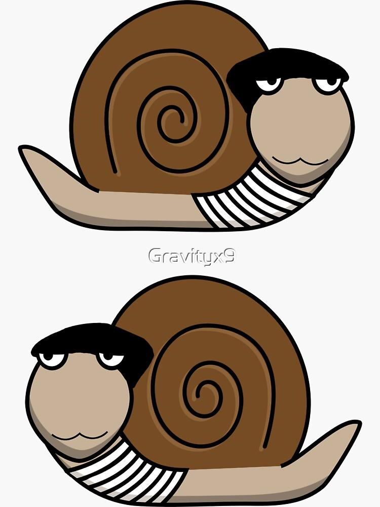 French Snail ~ Escargot by Gravityx9