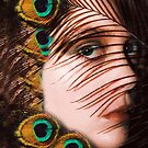 feather-eye by Soxy Fleming