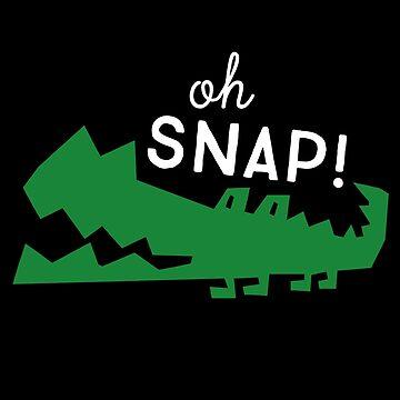 Oh Snap Crocodile by Dmurr