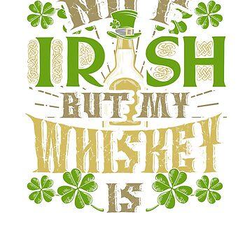 Funny St Patricks Day Whiskey Drinking St Patty's Green Irish Party by arsdgibbons