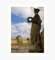 Musee du Louvre Art Print
