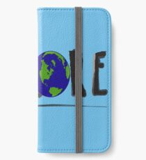 Explore Mother Earth iPhone Wallet/Case/Skin