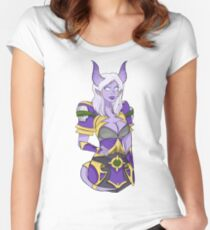 Seranii Draenei Hunter Women's Fitted Scoop T-Shirt