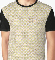 SCALES2 WHITE MARBLE & YELLOW MARBLE (R) Graphic T-Shirt