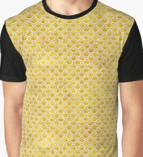 SCALES2 WHITE MARBLE & YELLOW MARBLE Graphic T-Shirt