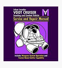 Cruiser Manual Photographic Print