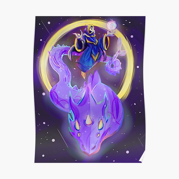 Lunatic Cultist & Phantasm Dragon Poster