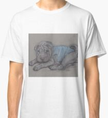 sharpei puppy Classic T-Shirt