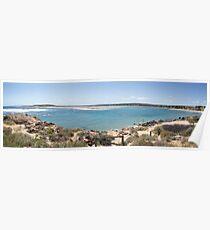 Chinamans Beach....panorama shot Poster