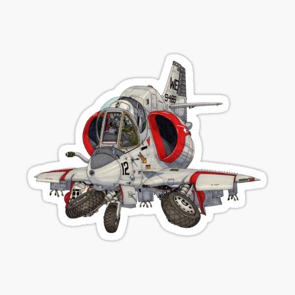 A-4 Skyhawk Sticker