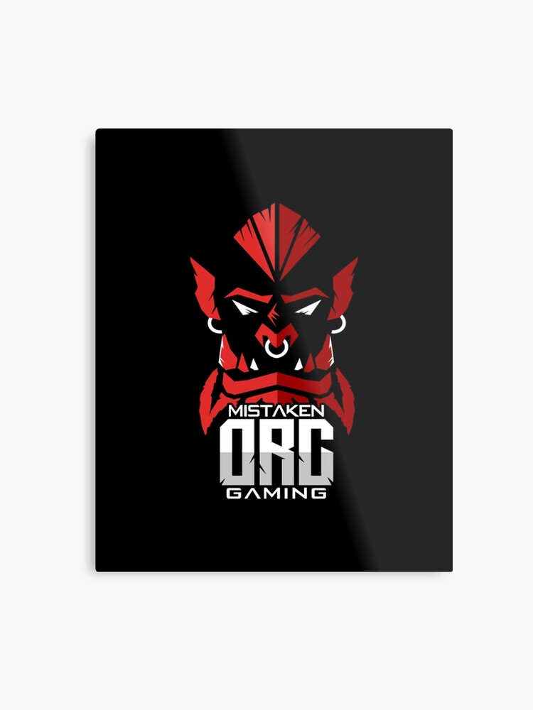 Our Official Gaming Logo | Metal Print