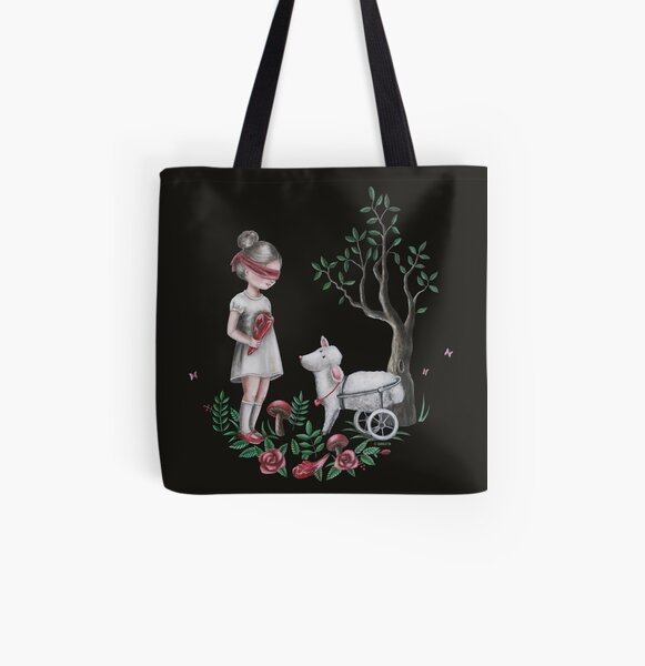The Easter Lamb All Over Print Tote Bag
