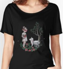 The Easter Lamb Women's Relaxed Fit T-Shirt