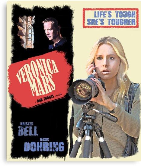 Veronica Mars Vintage Film Poster by skyela95