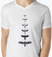 Australian Birds Men's V-Neck T-Shirt