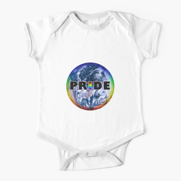 Earth Pride Short Sleeve Baby One-Piece