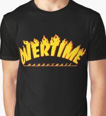 Overtime Basketball Graphic T-Shirt