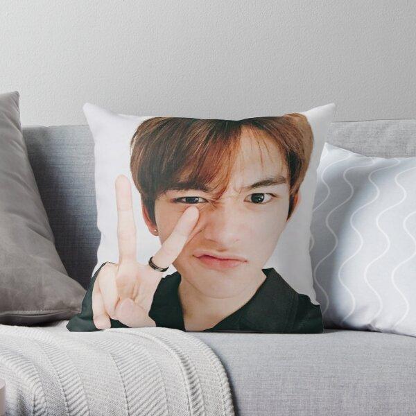 NCT U LUCAS 04 Throw Pillow