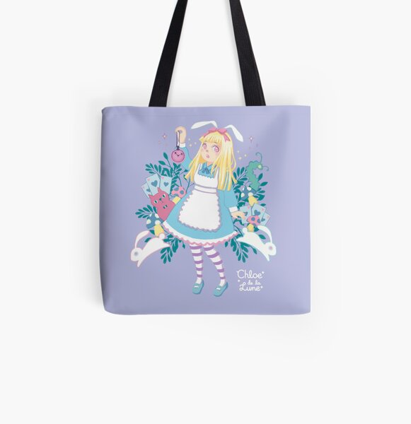 Oh Alice! All Over Print Tote Bag