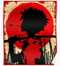 Samurai sunset Mugen Poster