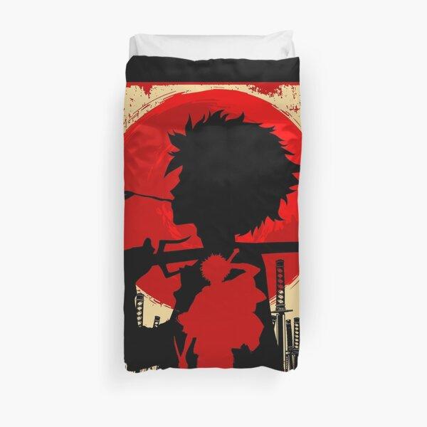 Samurai sunset Mugen Duvet Cover