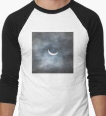 Partial Eclipse Men's Baseball ¾ T-Shirt