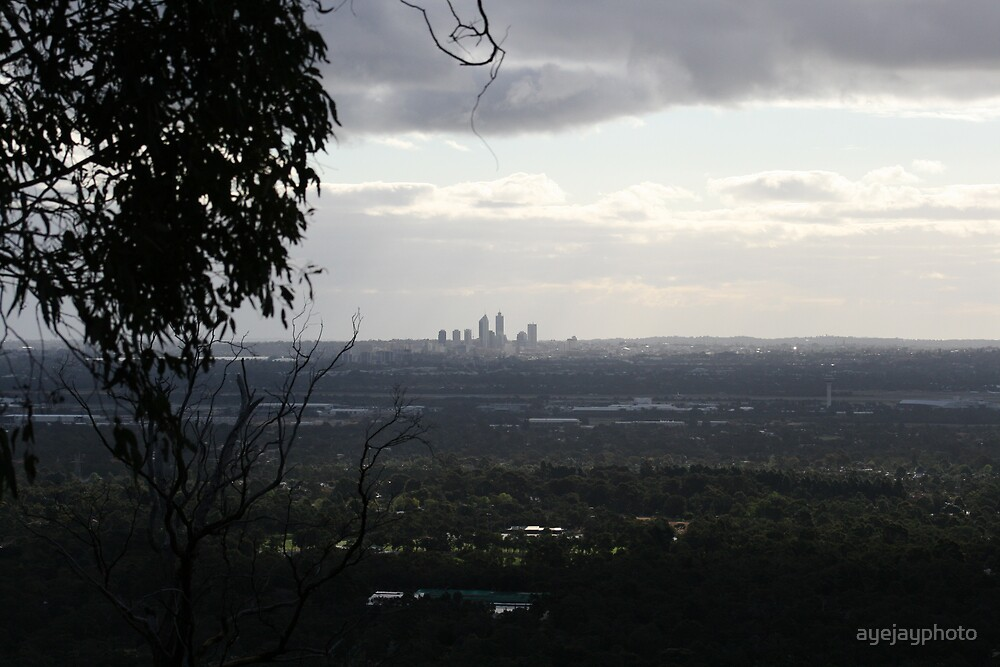 View from perth hills. by ayejayphoto