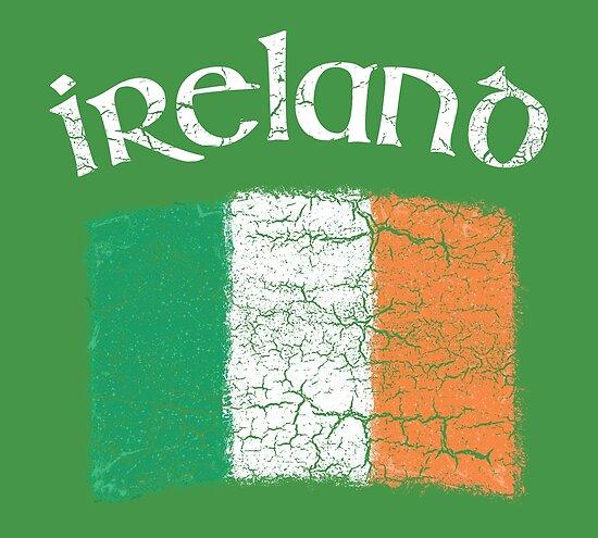 9d351f9926d8 Retro Irish Flag Vintage Ireland St Patricks Day Kids
