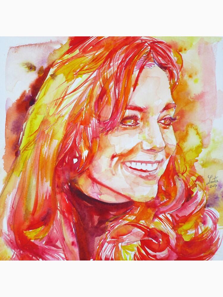 CATHERINE,Duchess of CAMBRIDGE - watercolor portrait.6 by lautir