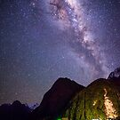 Milford Milky Way by Alex Stojan