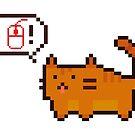 Pixel Katze von DuzeKubki