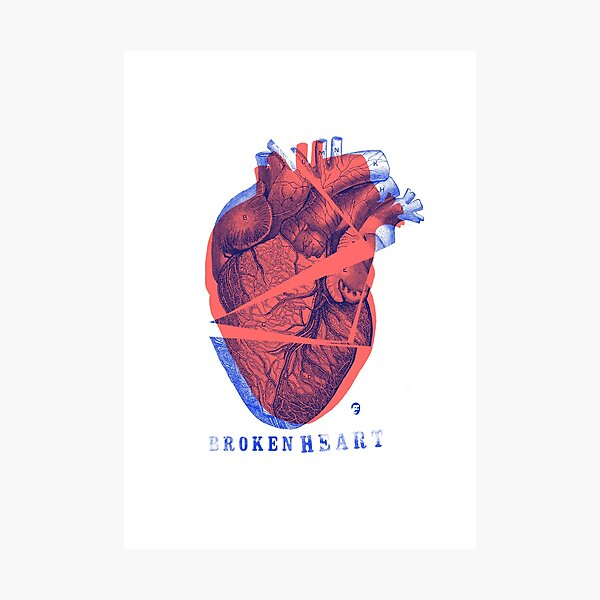 Broken Heart Lámina fotográfica
