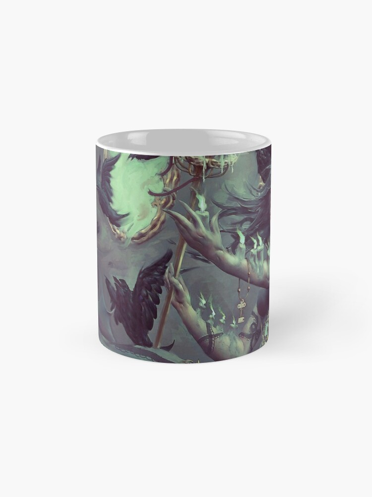 Alternate view of Crows, Candles Classic Mug