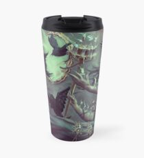 Crows, Candles Travel Mug