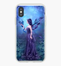 Iridescent Fairy & Dragon iPhone Case