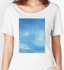 Moon in the Clouds Women's Relaxed Fit T-Shirt